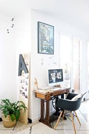 dans un bureau chez moi mon coin bureau et des idées pour intégrer un espace