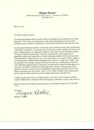 Letter of Re mendation from Special Education Teacher from Megan De…