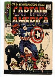 CAPTAIN AMERICA 100 Black Panther First Issue Comic Book 1968