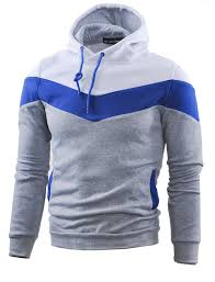 amazon com mooncolour mens novelty color block hoodies cozy sport