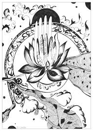 Zen And Anti Stress Coloring Pages For Adults Page Adult Image
