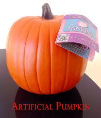 Fake Carvable Pumpkins by Polka Dot Pumpkins Once Again My Dear Irene