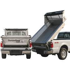 100 Truck Bed Length Buyers Products DumperDogg Stainless Steel Dump Insert 8Ft