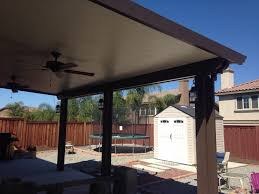 Alumawood Patio Covers Riverside Ca by Aluminum Patio Cover With Lights And Ceiling Fan Yelp