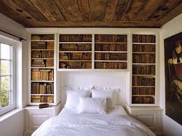 BedroomRustic Wall Shelves For Bedroom With Rectangle White Painted Wood Headboard Also Comfortable