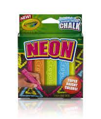 Amazon.com: Crayola Special Effects Sidewalk Chalk - Neon ( 5 Chalk ...