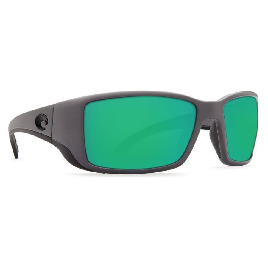 Costa Del Mar Blackfin Polarized Sunglasses - Matte Gray Frame + Blue Lens