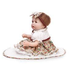 11 Inches Body Vinyl Silicone Reborn Baby Dolls Lifelike Mini Dolls