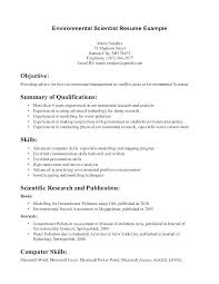 Computer Resume Examples Recent Posts Skills Science Best Fresher Objective Basic