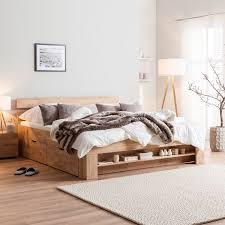 massivholzbett eoswood kaufen home24 schlafzimmer
