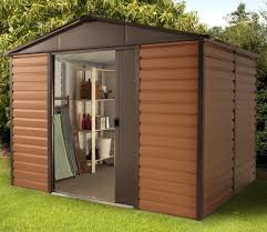 10x12 Metal Shed Kits by Yardmaster 10ft X 12ft Woodview Shiplap Metal Shed Gardensite Co Uk