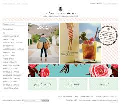 100 Modern Design Blog S So Pretty Showcase For Pretty Websites More