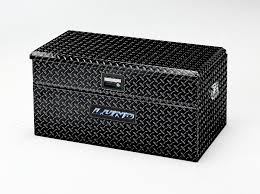 100 Truck Tool Boxes Black Diamond Plate Lund 36Inch Flush Mount Box Single Lid Wide Aluminum