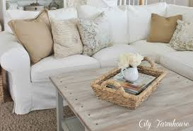 Sand Studio Day Sofa Slipcover by Real Life With A White Slipcover U0026 Keeping It Pretty City Farmhouse