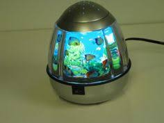best night light fake aquarium no water or mess and the rotating