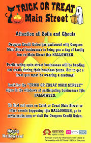 Date Halloween 2014 by Trick Or Treat On Main Street Osoyoos