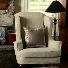 Tan Linen | Furniture And Upholstery In 2019 | Slipcovers For Chairs ... Winston Porter Tcushion Wingback Slipcover Reviews Wayfair Newport Stretch Wing Chair Slipcovers Craftmaster Accent Chairs Back With Traditional Turned Good Box Cushion All Modern Rocking Schenck Joss Main Awning Stripe Update Backs Striped Chair Covers In Buffalo Check Judys Decorating Elegant Ethan Allen For Inspiring Interior Pottery Barn Leather Grey Turquoise Acadabra Living Room Covers Upholstered