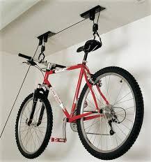 Ceiling Bike Rack Flat by Racor Pbh 1r Ceiling Mounted Bike Lift Bike Storage Racks