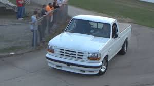 100 Lightning Truck 1994 Ford With A F2 ProCharger Drag Racing Real