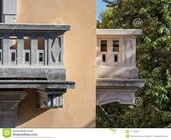 100 House In Milan Stone Balconies Of Old Stock Image Image Of