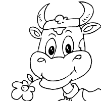 Cow Coloring Pages Surfnetkids