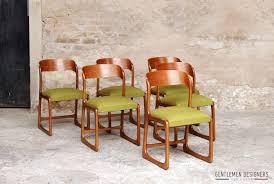 chaise traineau baumann gentlemen designers mobilier vintage made in 6 chaises