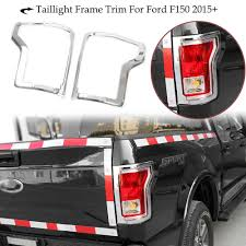 100 Truck Trim For 201517 Ford F150 Rear Tail Light Cover Bezel