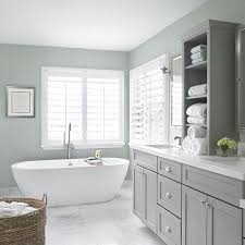 Best Paint Color For Bathroom Cabinets by Best 25 Grey Bathroom Cabinets Ideas On Pinterest Gray Bathroom