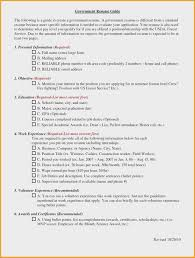 Sample Resume Government Jobs Fresh Applicant