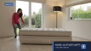 Aerobed With Headboard Bed Bath And Beyond by Aerobed Luxury Collection Raised Single Luftbett Gästebett Youtube