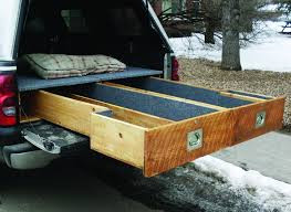 Bedroom Lovely Truck Bed Drawer Diy Car Tuning In
