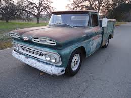 100 Chevy Trucks For Sale In California CALIFORNIA NATIVE 1961 CHEVY UTILITY BED TRUCK WITH NATURAL PATINA