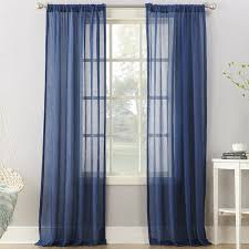 Blue Sheer Curtains 96 modern curtains and drapes allmodern