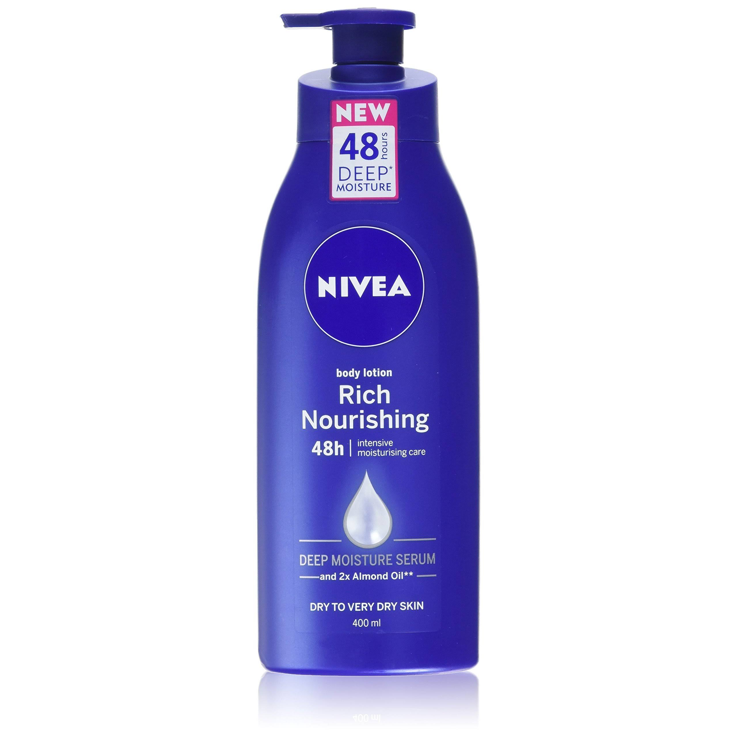 Nivea Rich Nourishing Body Lotion - 400ml