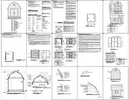 Shed Plans 16x20 Free by Free Gambrel Shed Plans Shed Plans Kits