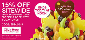 Edible Arrangements Mothers Day Coupon Code : Discount ... Cheap Edible Fruit Arrangements Tissue Rolls Edible Mothers Day Coupon Code Discount Arrangements Canada Valentines Day Sale Save 20 Promo August 2018 Deals The Southern Fried Bride Fb Best Massage Bangkok Deals Coupons 50 Off Home Facebook 2017 Coupon Codes Promo Discounts Powersport Superstore Free Shipping Peptide 2016 Celebrate The Holidays 5 Code 2019