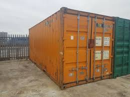 100 Metal Shipping Containers For Sale 20ft Steel Storage Container Container For Sale Good Condition Wind And Water Tight In East End Glasgow Gumtree