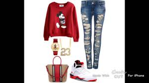 Girl Outfits With JORDANS