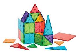 Valtech Magna Tiles Canada by Magna Tiles Clear Colors 32 Pieces