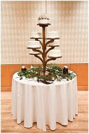 Alexia Dives Posted Beautiful Rustic Wedding Cake Stand That Looks Like A Tree To Their Cakes Postboard Via The Juxtapost Bookmarklet