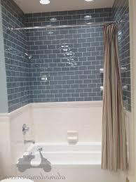 bathroom fresh blue subway tile bathroom home design image on