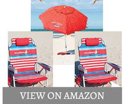 Tommy Bahama Backpack Beach Chair Dimensions by The Best Beach Chairs With Umbrella People Choice October 2017 List