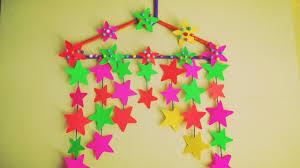 DIY Star Wall Hanging