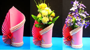 How To Make A Paper Vase At Home