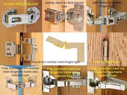 Non Mortise Cabinet Hinges Nickel by How To Install Cabinet Hinges How To Install Self Closing Overlay