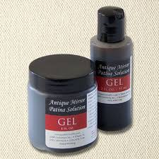 Antique Mirror Patina Solution Gel Concentrate Paint BrandsDiy
