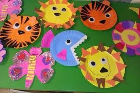 Paper Arts And Crafts Plates Animal Craft For Kids Art Gift Ideas