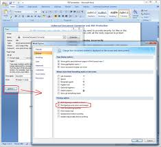 Print Background Feature In Microsoft Word