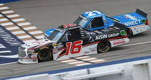 100 Nascar Truck Race Results Brett Moffitt Edges Johnny Sauter At Michigan MRN