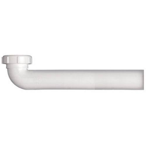 Keeney Slip-Joint Waste Arm - White, Plastic